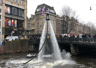 Flyboardshow Herengracht